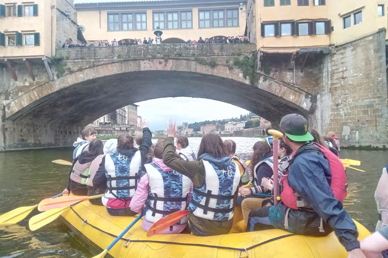 rafting urbano