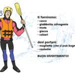 Dotazione rafting